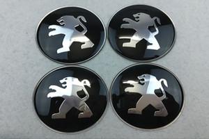 56.5mm 65mm Auto Wheel Wheel Caps Emblem Sticker ruota per Peugeot 308 408 508 3008