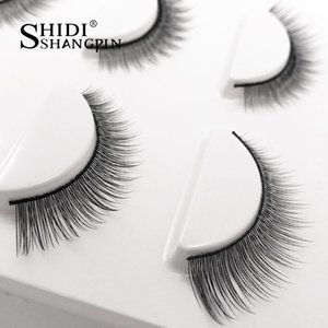 3 쌍 자연 속눈썹 속눈썹 확장 풀 스트립 속눈썹 화장 도구 Maquillage 섬모 눈 속눈썹 속눈썹 Faux Cilios
