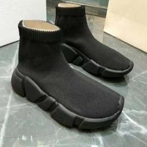 Casual Shoes black Blue Sock Shoe Men And Women Speed Socks Race Runners Slip-on Unisex Black Shoes With box Sneakers o67