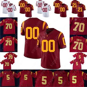 USC Trojans Football Jersey Iman Marshall Amon-Ra S. Brown Palaie Gaoteote IV JT Daniels Stephen Carr Olaijah Griffin Austin Jackson