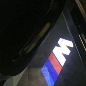 Maxup 2PCS مخصص باب السيارة ترحيب ضوء لسيارات BMW ضوء شعار ضوء 3 5 6 7 سلسلة GT X5 X3 M3 M5 M4 M6 الأداء الشعار