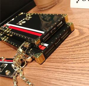 Für 11 Iphone Pro Max X XS XR 7 8plus Modedesigner Englisch Marke Telefon-Kasten für Huawei P40 P30 P20 Lite Mate-30 20 Der Schlüsselanhänger-Abdeckung