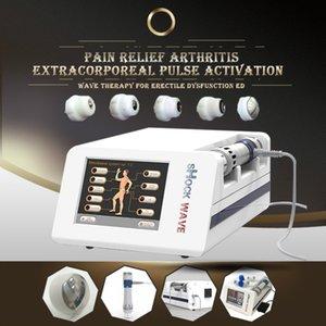2019 Protable White Shock Wave Therapiegerät CE-Zulassung Tragbare Shock Wave Therapiegeräte reduzieren Schmerzen