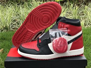 2020 Xshfbcl high quality j 1 Retro High Fearless UNC Chicago basketball shoes men and women black toe royal OG obsidian sneakers