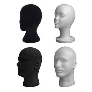Pratico display Schiuma Mannequin femminile Testa Testa Cappelli Occhiali cuffie parrucche designano gli attrezzi del basamento della cremagliera