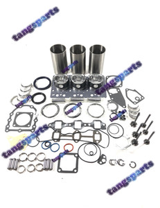 3TNV70 Engine Rebuild kit with valves For YANMAR Engine Parts Dozer Forklift Excavator Loaders etc engine parts kit
