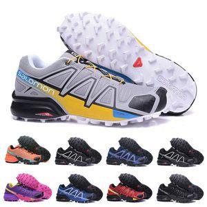 Speedcross 4 Yürüyüş Ayakkabı Erkekler Kadınlar İyi Kalite Için İndirim Spor Ayakkabı Moda Sneaker Açık Ayakkabı Boyutu 36-46