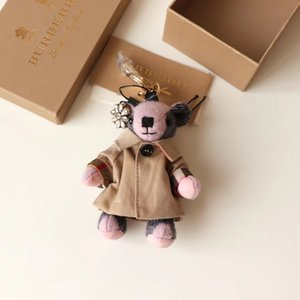 20 stil sıcak satış anahtarlıklar deri tavşan çanta kolye bayan modelleri sevimli araba anahtarlık moda sırt çantası asılı süsler