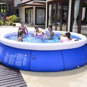 Piscina inflable al aire libre Piscina para patio jardín de la familia Kids Play grande infantil para adultos piscina inflable para niños Ocean Pool Plus