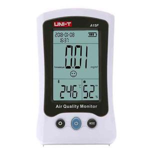 A15F Qualidade do Ar UNI-T Monitor de formaldeído Detector Tester Medidor de temperatura do analisador medidor de umidade HCHO Gas frete grátis