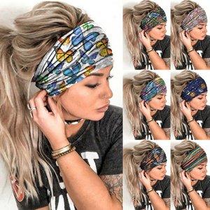 Women Headpiece Stretch 2020 Turban Hair Accessories Headwear Yoga Run Bandage Hair Bands Headbands Wide Headwrap