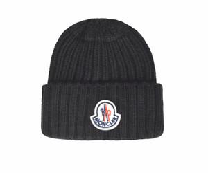 2019 Высокого качества Моды TOP бренд чистый хлопок трикотажные хип-хоп Шапочки Вышитого мужского зимних шапок Casual Head Warmer наружных крышки