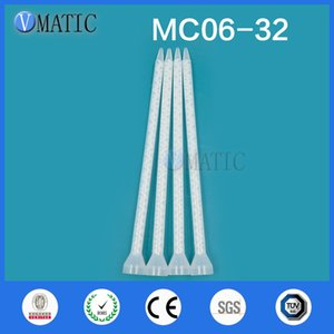 Free Shipping High Quality Resin Static Mixer MC06-32 Mixing Nozzles For Duo Pack Epoxies (White Core)