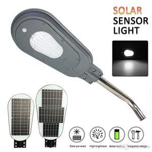 40W / 60W 82LED Солнечная PIR датчик движения уличный свет с кронштейна Водонепроницаемые Настенный светильник безопасности пятна освещения