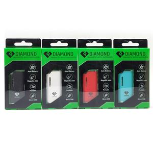 Authentische Airis Diamond Kit elektronische Zigarren-Kit 280mAh Auto Batterie Vape Mod mit G2-Patrone USB-Ladegerät Thick Oil Vaporizer