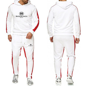 Livre Novas 2019 Mens Designers Fatos Outono Marcas Mens Fatos Jogger Suits jacket + pants Conjuntos desportivos Suit