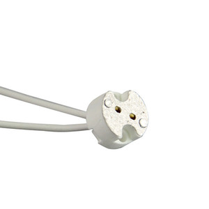 1X MR16 Holder GU5.3 Ceramic Lamp Base Socket LED CFL Halogen lamp holder with Wire Connector