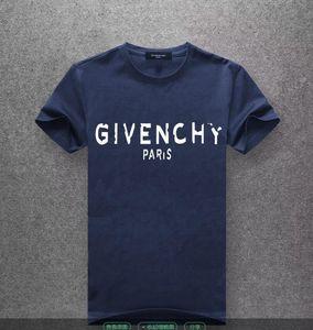 20Summer stampare T-shirt mezza manica Europa cotone causale Antirughe nuovi uomini di stile girocollo nero bianco rosso. # A13