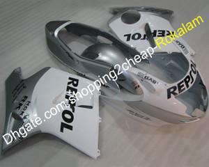 Blackbird Moto Parts para Honda CBR1100XX Blackbird 96-07 CBR1100 CBR 1100 XX 1996-2007 Plata Carenados de motocicleta blanco (moldeo por inyección)