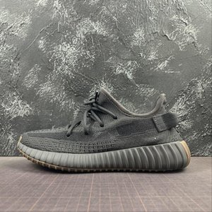 v2 Cinder sneakers top quality kanye sneaker west running shoes trainer youth kids men women trainers real boots FY2903