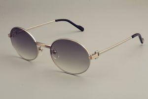 2019 nuevo ultra ligeras gafas de sol retro redondas 1.188.008 de moda gafas de sol, visera de los hombres modelo de oro