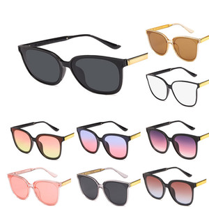 European and American retro sunglasses big frame fashion sunglasses a gift with temperament