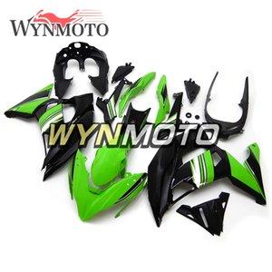 Nuova carenatura completa per motocicli in plastica ABS per Kawasaki ER-6F Ninja 650r Ninja650r 2017 2018 ER-6F 17 18 Kit per il corpo Coperture verdi nere
