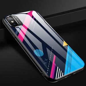 크리 에이 티브 모델 금속은 iphone11 미러 스마트 시계를 방지 가을 낙서 유리 애플 (11) 휴대 전화 케이스 쉘 렌즈를 두르고