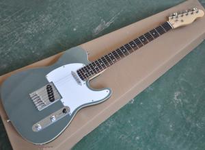 Argento metallizzato chitarra elettrica con tastiera in palissandro, Bianco Battipenna, 22 tasti, può essere personalizzato come richiesta