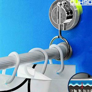 baño de succión barras anillos de ducha barra de la cortina bastidor soporte colgante Cornisas fuertes anillo colgando Cortina postes Tracks Accesorios T200601
