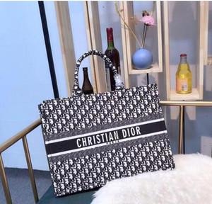 2019 luxurys originales famoso diseñador de bolsos de lona comprador del comprador del totalizador del bolso del bolso del hombro bolsos monederos señoras de las mujeres crossbody 070650