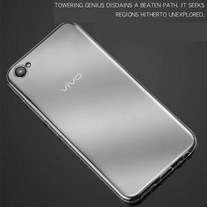 Ultra Yumuşak TPU Silikon Kauçuk Jel Temiz Şeffaf Kapak Kılıf için VIVO X27 Pro X23 X21i X20 Artı V15 V11 Y97 Y83 Y17 Z5X IQ00 Anti-çizik
