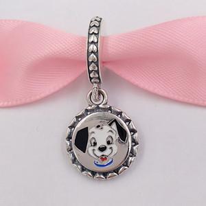 Authentische 925 Sterling Silber Perlen New Disny Parks Exklusive Pandora 101 Dalmatiner Lucky Dog Mom Charm Charms Passt europäischen Pandora Style
