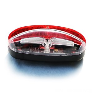 LED Bicycle Rear Rack Light Road Bike Running Lights Cycling Taillight Red Rear Lamp luz Bicycle Accessories Cycling trasera bicicleta led v