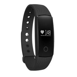 ID107 Akıllı Bilezik Izle Spor Izci Kalp Hızı Monitörü Pedometre Akıllı Kol Saati Iphone Android Akıllı Telefon Izle
