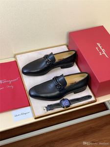 19FW Nuevo diseño de los hombres zapatos de boda de lujo inferiores rojos zapatos de los holgazanes de vestir de negocios, la patente de cuero Negro loubiflat siempre 38-46 Bonsin