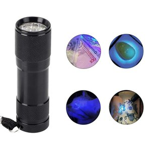 UV Flashlight, LED Ultraviolet Mini Flashlight Pet Dog Urine Detector for Bed Bugs Carpet Rugs Stains Catch Scorpion Verifying Money Documen