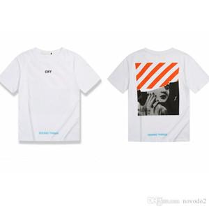 OFF дизайнерская футболка для мужчин женщин хлопок с коротким рукавом летние топы футболка мода ноутбук наклейка футболка 1 Opp сумка
