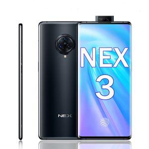 """원래 생체 넥스 3 4G LTE 휴대 전화 8기가바이트 RAM 1백28기가바이트 ROM 스냅 드래곤 855 플러스 옥타 코어 안드로이드 6.89 """"64.0MP 지문 ID NFC 휴대 전화"""