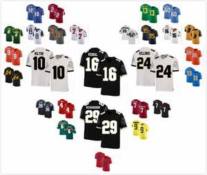 Personalizzato UCF Knights Nate Evans Jersey 44 Richie Grant 27 Jake Hescock 88 Daniel Obarski 98 Antwan Collier 3 Jonathon MacCollister 86 S-3XL