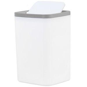 NHBR-Waste Bin Small Trash Can Mini Desktop зольник Столешница пескоуловитель для настольных автомобилей Trash Bin Грея