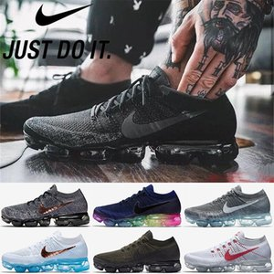 2019 Airs Vapors 2.0 Maxes Plyknit Women 1.0 3.0 Black white Trainers Tennis Max Men Sport running sneakers shoes Size 36-45
