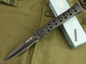 NEWER COLD STEEL 26S Messer faltender Taschen-kampierende Überlebens-Messer-Weihnachts Messer Geschenk Messer 1pcs Admi