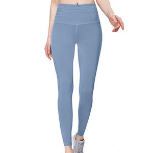 envío libre de los pantalones LU-32 del yoga las mujeres 2020 nueva lu yoga de la aptitud corrientes de los deportes de los pantalones apretados tramo 016 de cintura alta transpirables
