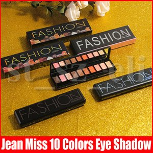 Jean Fräulein Beauty 10 Farben Lidschatten-Palette Pigment Nudes Mode 10 Farbe Matt Glitter Schimmer Lidschatten 3 Styles