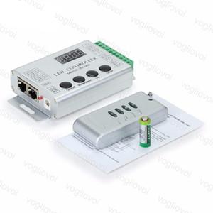 Contrôleurs RGB Aluminium RF4Key Contrôleur IR Accessoires d'éclairage DC5V / 12-24 pour Magic Strip WS2811 / SK6812 / WS2812B / 6803/6812/1903 DHL