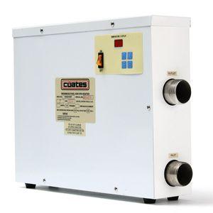 9KW 220V 디지털 수영장 스파 온수 욕조 온도 조절기 전기 온수기