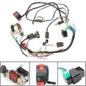 CDI fio Assembléia Cablagem Kit ATV elétrica Iniciar QUAD 50cc 70cc 90cc 110c