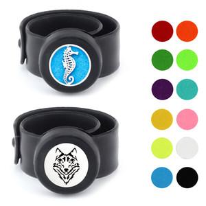 Kinder Sear horse wolf Einstellbare Mückenschutz Armband Ätherisches Öl Diffusor Armband Kinder Parfüm Silikon Armbänder