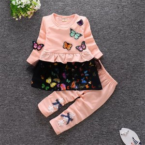 2020 New Autumn Winter Children Clothing Outfits 1 -4Y Kids Clothes For Girls Suit Toddler Clothing Sets Girls Clothes Set